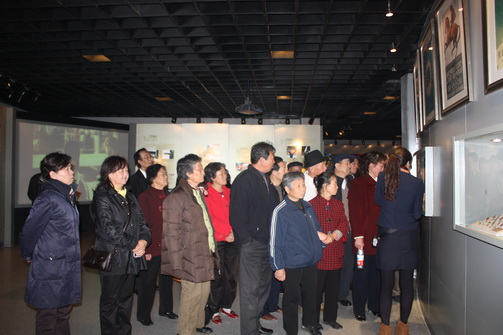 Cadres from Zhongcheng Equipment Manufacture Visit Tianjin Olympic Museum